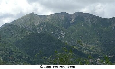 Greek Mountains Landscape - Pindus Mountains ridge lanscape...
