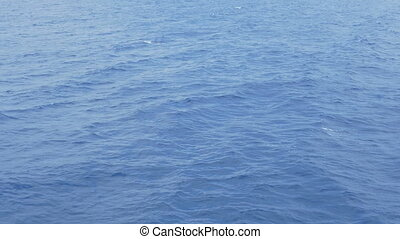 Blue Sea Surface Water