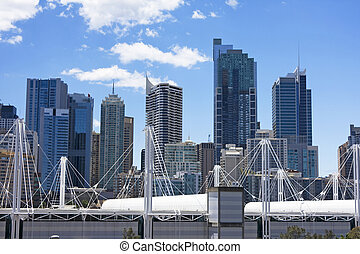 Sydney Australia Cityscape - Beautiful cityscape of Sydney,...