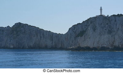 Lefkada Island Lighthouse - Beautiful Lefkada lighthouse on...