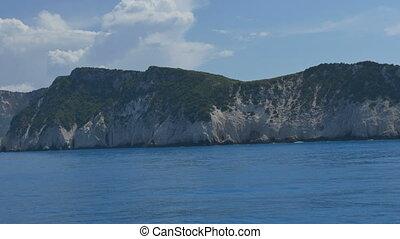 Rocky High Shoreline - Rocky high sea shoreline seen at...