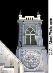 Wesley Methodist Church Georgetown - Night image of Wesley...