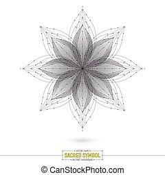 Vector Esoteric Mandala Art Illustration - Vector Mandala...