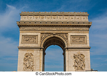 Arc de Triomphe, Paris - The Arc de Triomphe de l'Étoile...