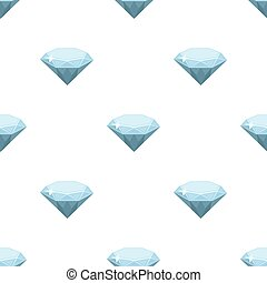 Gem diamond. A valuable prize in the casino.Kasino single icon in cartoon style vector symbol stock illustration.