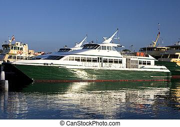 transbordador, bahía,  mort,  Sydney