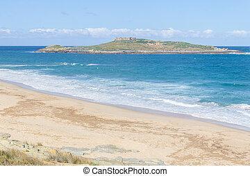 Pessegueiro island in Porto Covo, Alentejo, Portugal