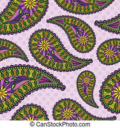 Paisley Background - Seamless Repeating Paisley Background