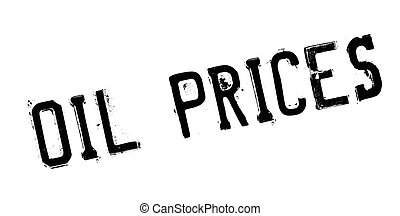Oil Prices rubber stamp. Grunge design with dust scratches....