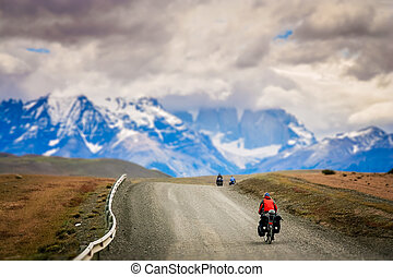 Cycling in Torres del Paine National Park