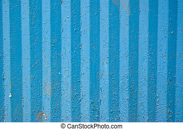 Background Texture Of Corrugated Iron - Abstract Background...