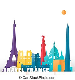 Travel france world monuments