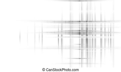 Digital futuristic grey tech abstract motion background with...