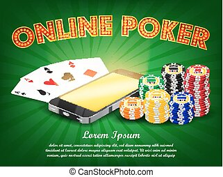 casino online smartphone poker suit card game