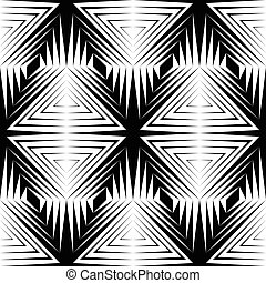 329-21 - Seamless Stripe and Line Pattern. Vector Black and...