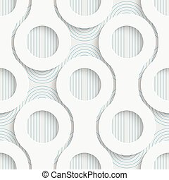 Seamless Wrapping Pattern. Abstract Tracery Background....