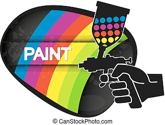 Spray for painting