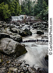 Liffey Falls in the Midlands Region, Tasmania - Beautiful...