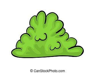 bush cartoon vector symbol icon design. Beautiful...