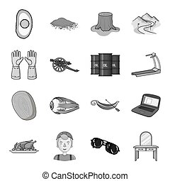 table, mirror, medical and other web icon in monochrome style.protection, furniture, dressing icons in set collection.