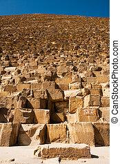 Sign Giza Pyramid Khufu Cheops Base