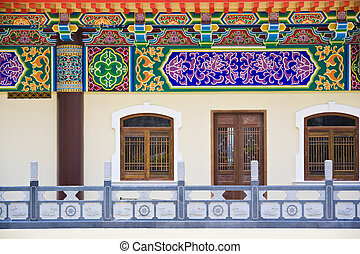 Facade of a Chinese Temple