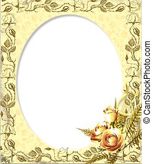 florista frame - border or frame for scrapbook and collage...