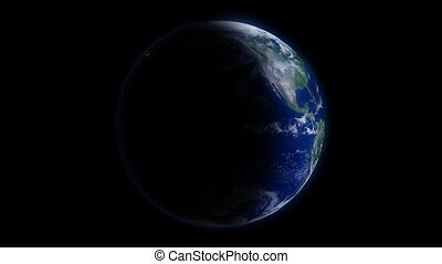 Rotating Earth Day & Night