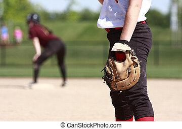 壘球, 表演者