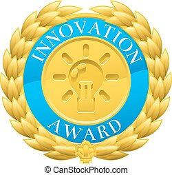 Gold Innovation Winner Laurel Wreath Medal