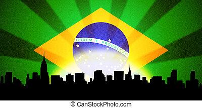 Brazilian cityscape