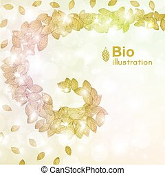 Abstract Nature Background - Abstract nature background with...