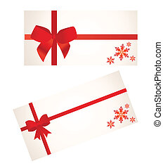Red Bow vector illustration