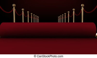 Red Carpet rolls out accompanied by the flash bulb