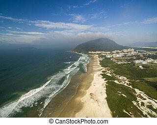 FLORIANOPOLIS, SANTA CATARINA ISLAND, BRAZIL - Costao do...