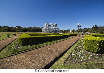 Botanical Garden of Curitiba, Parana. July, 2017