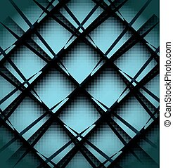 Square absract geometrical abstract background.