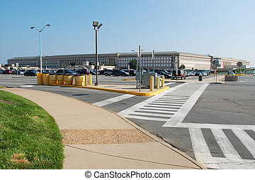 Pentagon building in Washington DC, USA