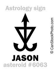 Astrology: asteroid JASON - Astrology Alphabet: JASON,...