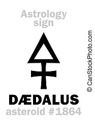 Astrology: asteroid DÆDALUS - Astrology Alphabet: DÆDALUS,...