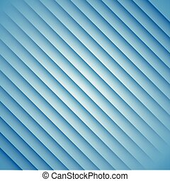 abstract blue stripes on a white background