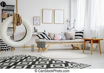 Cozy room of child