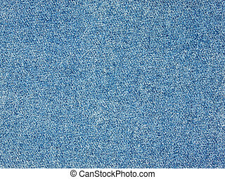 Full Frame Background of a Blue Denim Fabric Pattern