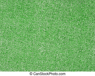 Full Frame Background of a Green Denim Fabric Pattern