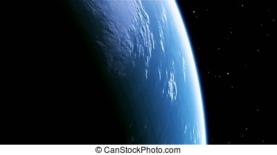 A stunning 4K view of planet earth from outer space. This is version 1, please see version 2 also.