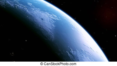 A stunning 4K view of planet earth from outer space, this is version 2, please see version 1 also.