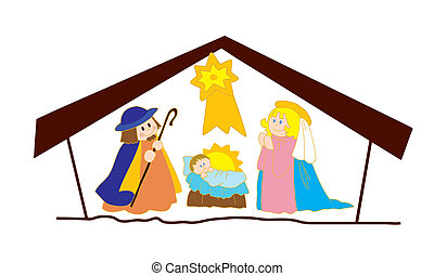 Christ's nativity.
