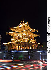 Guilin Tower is  located in downtown Guilin China