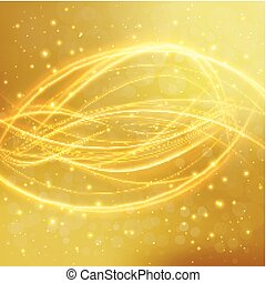 gold-background-17-1 - Abstract golden background with laser...