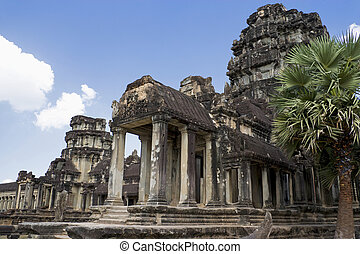 Angkor Wat - Image of UNESCOs World Heritage Site of Angkor...